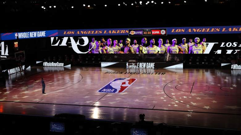 NBA Disney Courts