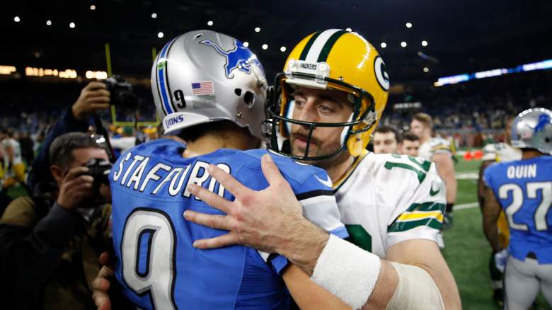 Matthew Stafford Aaron Rodgers