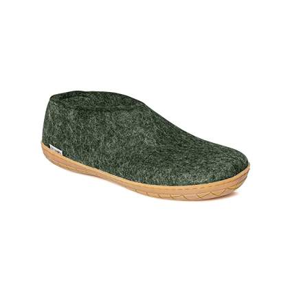 Glerups' AR Unisex 100% Natural Wool Shoe with Rubber Sole
