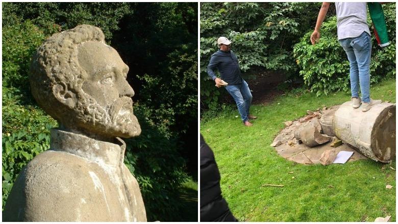 Haile Selassie Statue