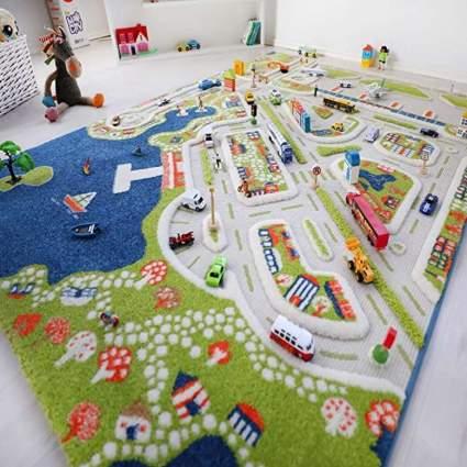 IVI highly detailed 3D rug