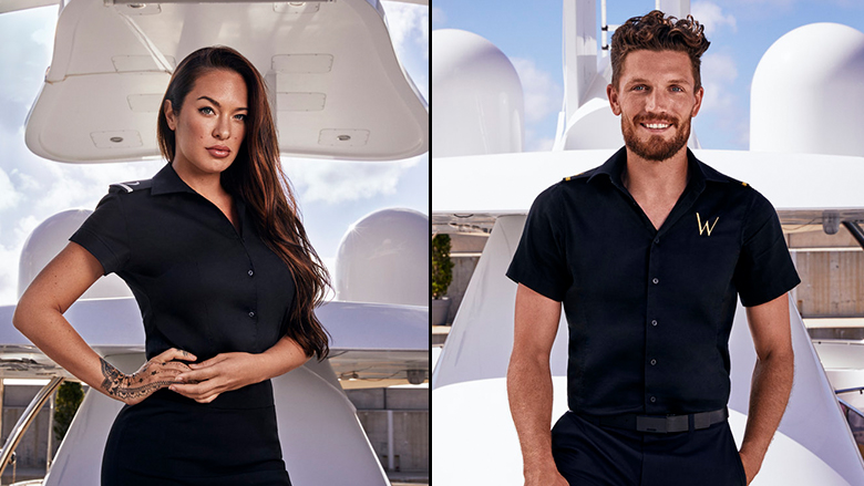 Jess and Rob on Below Deck