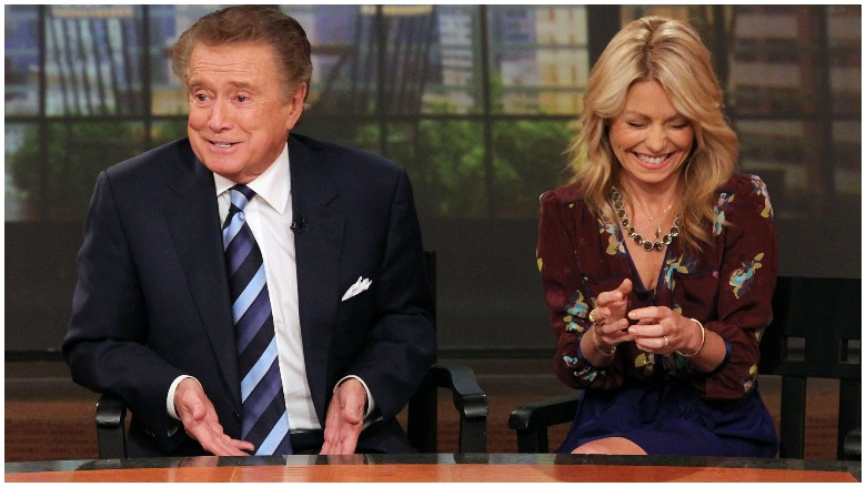 Kelly Ripa Regis Philbin