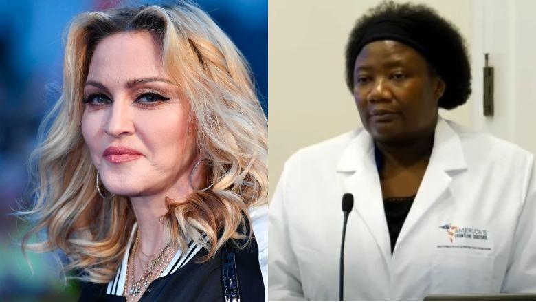 Madonna and Dr. Stella Immanuel
