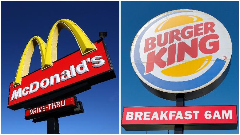 McDonald's, Burger King