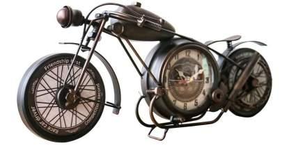 Metal Motorcycle Wall Clock