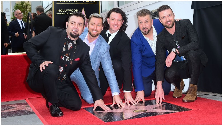 NSYNC Band members today