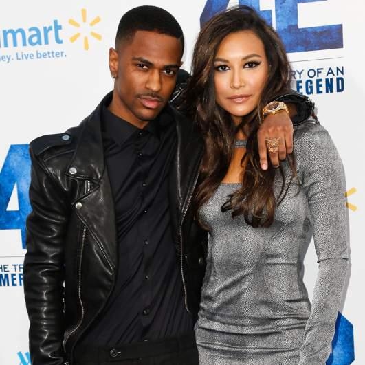 Big Sean and Naya Rivera