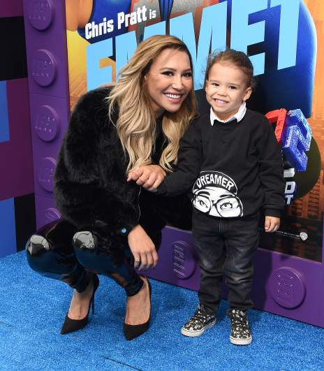 Naya Rivera and son Josey Dorsey