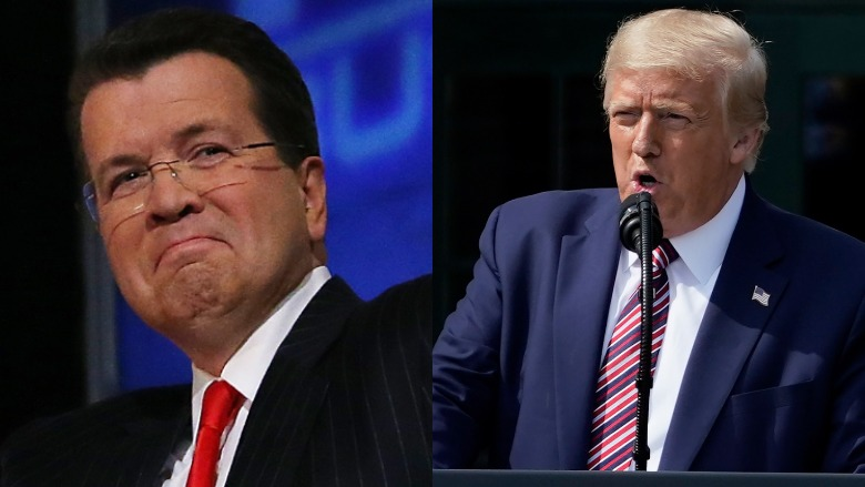Neil Cavuto and Donald Trump