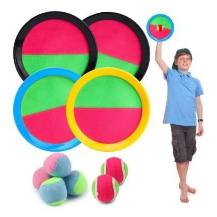 Paddle Catch Ball Set
