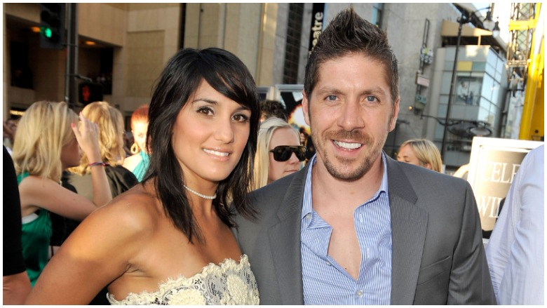 Ray Park and wife Lisa Park
