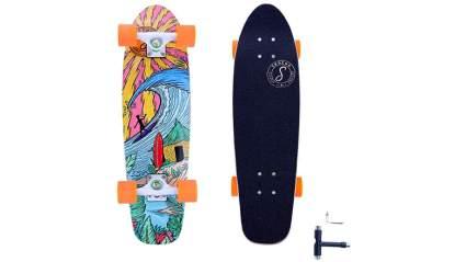 SKOCHO Classic 24in-28in Cruiser Skateboard Longboard