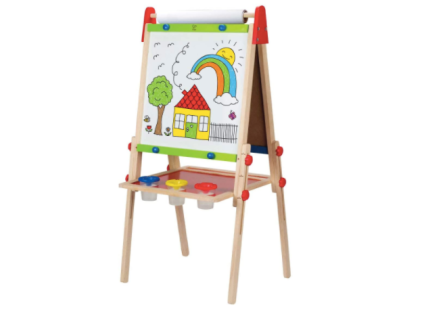 Hape All-in-One Wooden Kid's Art Easel