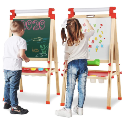 Kids Wooden Easel