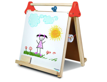 Discovery Kids 3-in-1 Tabletop Dry Erase Chalkboard