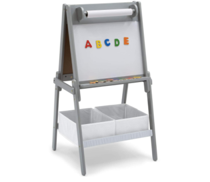 Delta Children Chelsea Double-Sided Storage Easel