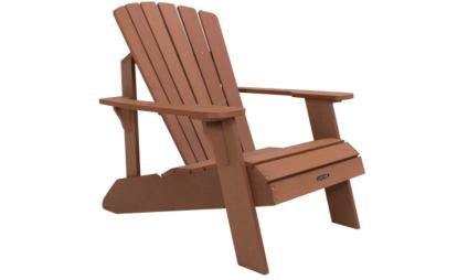 Lifetime Faux Wood Adirondack Chair, Brown