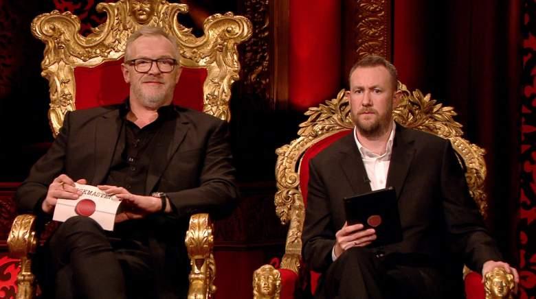 Greg Davies and Alex Horne on U.K. import game show Taskmaster.