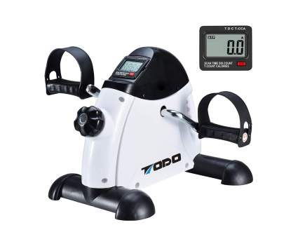 TODO Pedal Exerciser Stationary Medical Peddler with Digital LCD Monitor