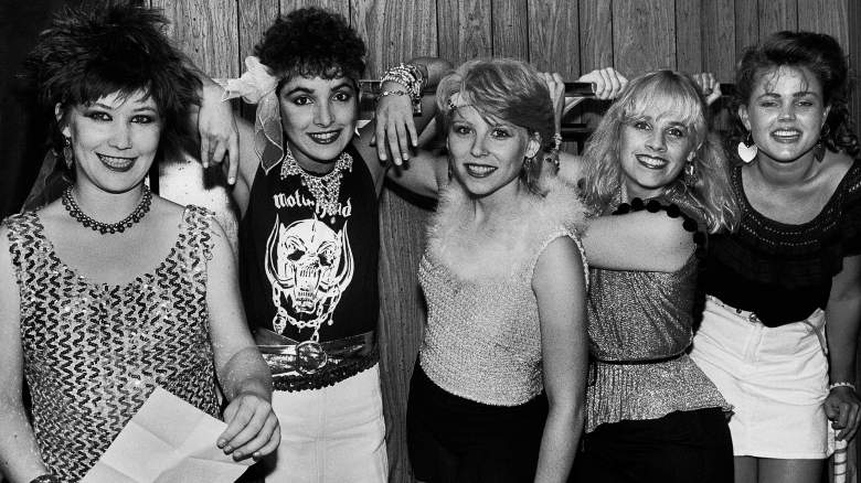 The Go-Go's in the early 1980s on the Showtime documentary about their rise to fame.