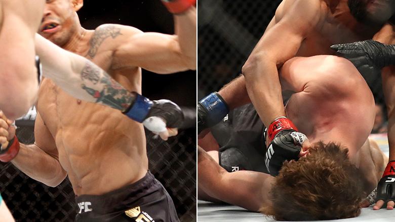 UFC Superstars Deliver KOs