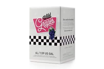 Box of Wild Grapes wine set