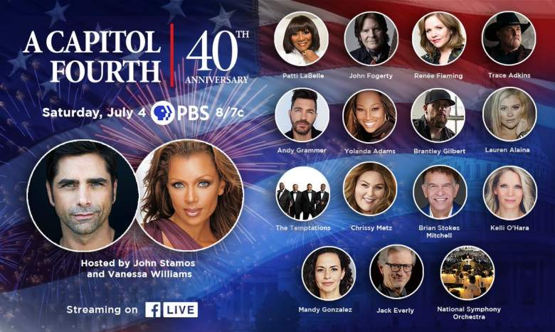 A Capitol Fourth 2020 Lineup and Performers