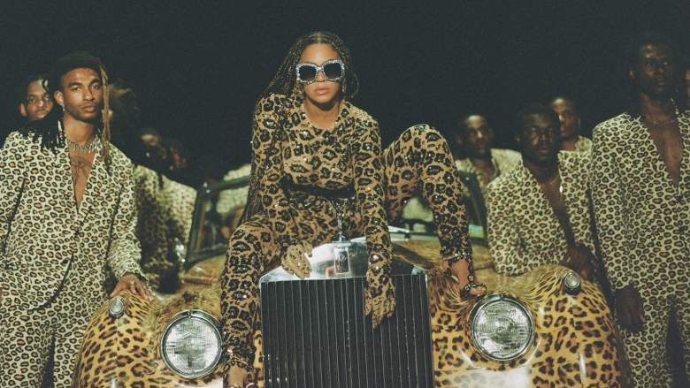 Beyonce in Black Is King, her new visual album for Disney Plus.