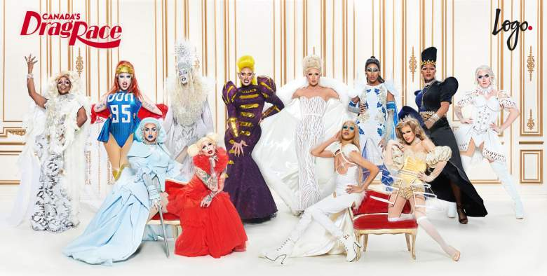 The Cast of Canada's Drag Race, airing in the U.S. on Logo TV.