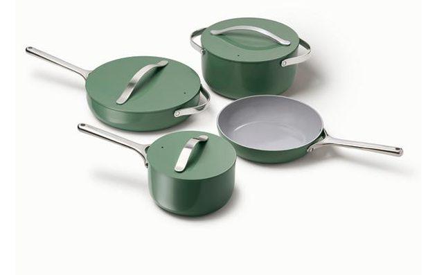 caraway cookware set review