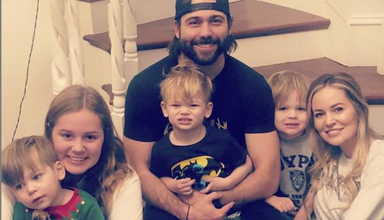 Emily Maynard, Tyler Johnson and their four children: Ricki, Jennings, Gatlin, and Gibson.