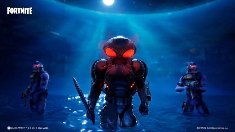 fortnite black manta