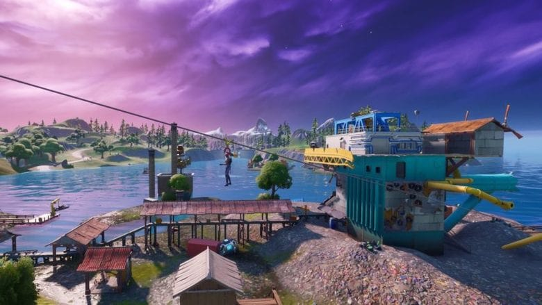 fortnite july 30 map update