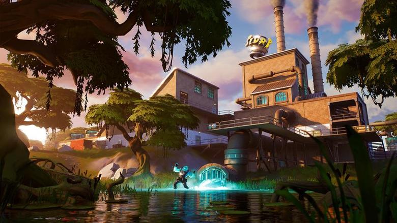 fortnite slurpy swamp