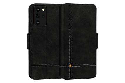 FYY Leather Wallet Samsung Galaxy Note 20 Case