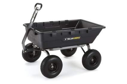 Gorilla Carts GOR10-COM Extra Heavy-Duty Dump Cart