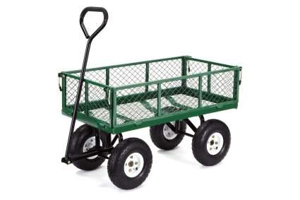 Gorilla Carts GOR400-COM Steel Utility Wagon