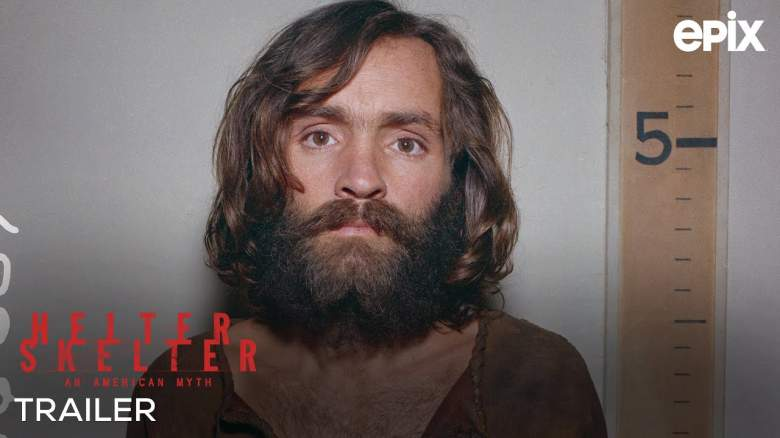EPIX's docuseries about Charles Manson and his followers called Helter Skelter: An American Myth premieres Sunday, July 26 at 10 p.m. ET/PT.
