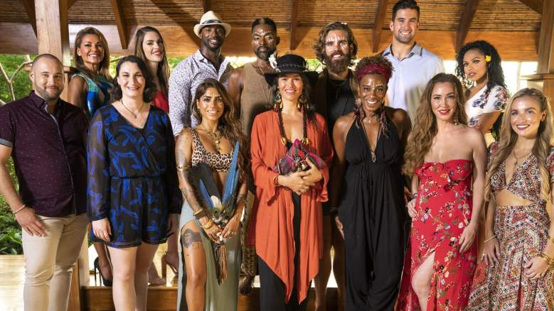 The guests and healers on TBS' new reality series Lost Resort.