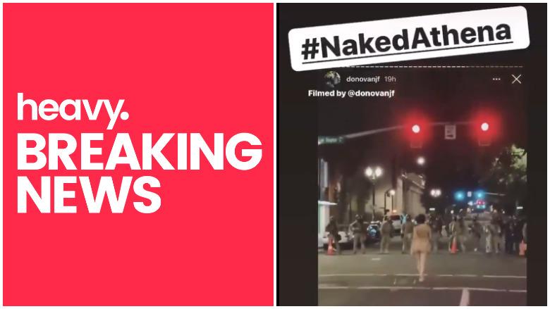 naked athena portland