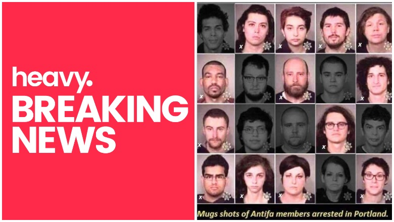 13 Antifa teachers arrested in portland