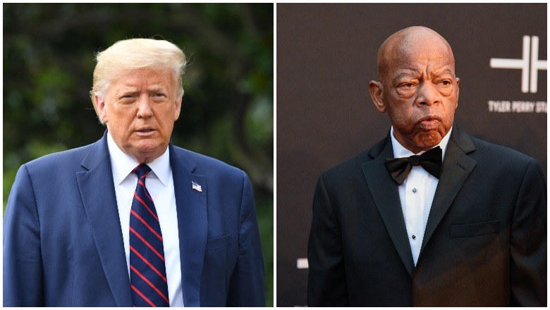Trump and Lewis