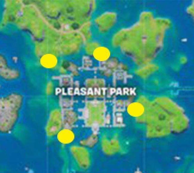 pleasant park floating rings fortnite