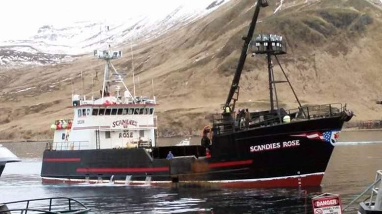 Alaskan fishing vessel Scandies Rose