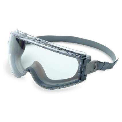 UVEX Stealth Safety Goggles with Anti-Fog Lens