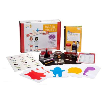 Yellow Scope DNA & Traits Science Kit