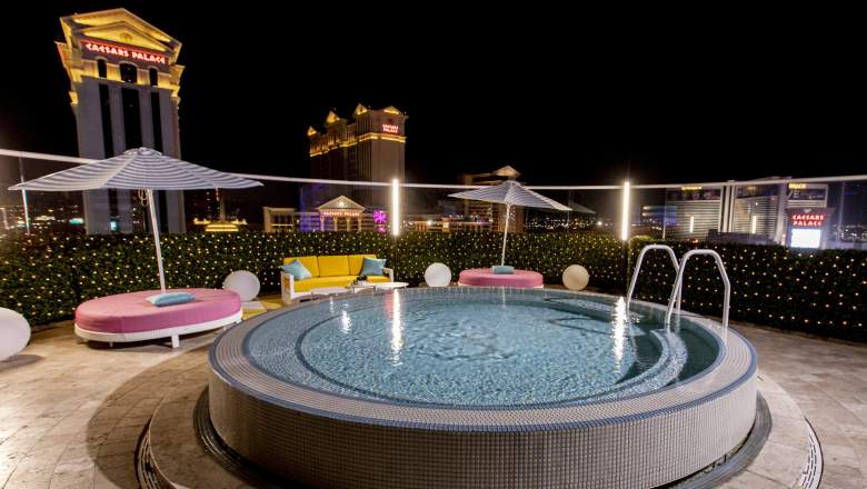 The Cromwell rooftop villa is the filming location for Love Island season 2 in Las Vegas, Nevada.