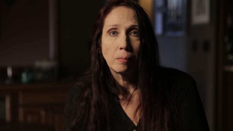 """Subject interview Christina Hildreth in """"Evil Lives Here"""" about serial killer Shawn Grate."""