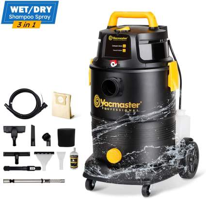 Vacmaster Wet Dry Shampoo Vacuum Cleaner 3 in 1 Portable Carpet Cleaner